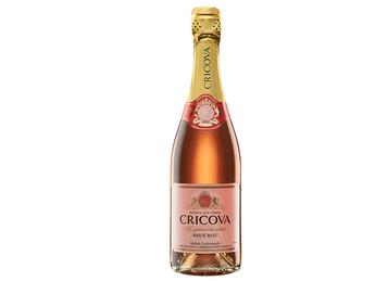 Розовое брют Cricova
