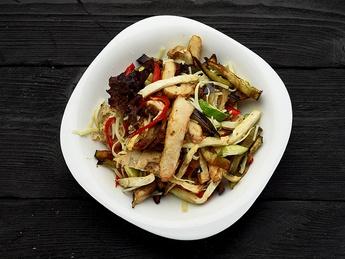 Warm salad Bavaria