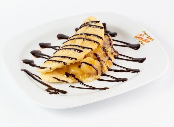 Taco de banana