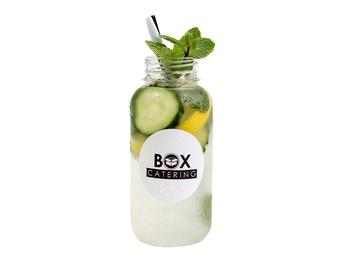 Cucumber lemonade 250 ml.
