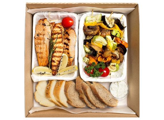 Обед из рыбы Box