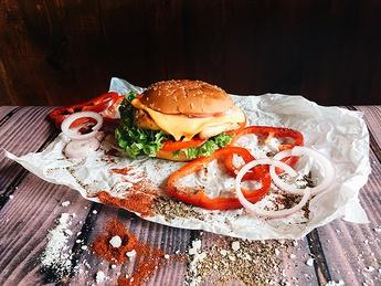 Chicken cheesburger