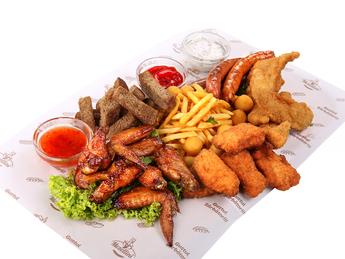 Chicken plateau