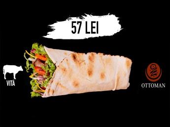 Kebab cu carne de vită
