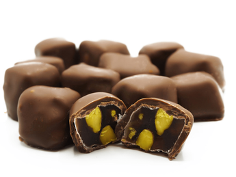 Rahat Lokum cu fistic in ciocolata