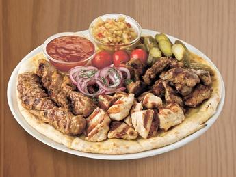 Мясная тарелка гриль