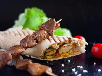 Beef Super-kebab
