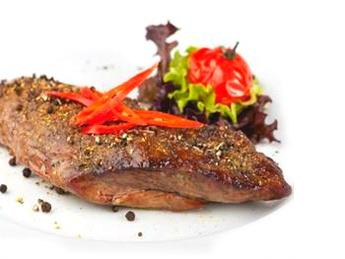 Grilled beef fillet