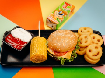 Kids party burgher