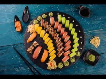 Sushi set Niji