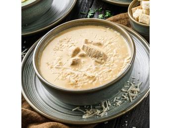 Chicken fillet cream soup