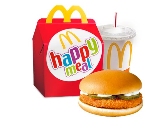 Happy Meal с McPuișor
