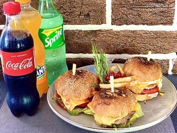 Mini burgers set
