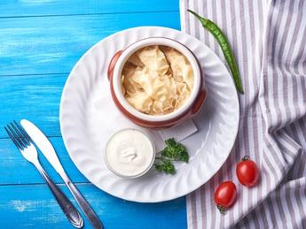 Colțunaș cu cartofi și ciuperci