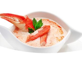 Суп крем с камчатским крабом