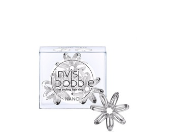 INVISIBOBBLE Nano Crystal Clear Hair Rings