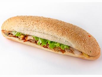 Mr. Chicken baguette
