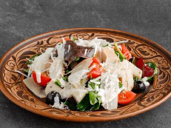 Parmesan salad