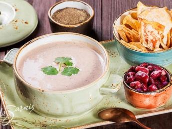 Lobio cream soup