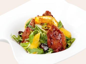 Микс салат с филе утки