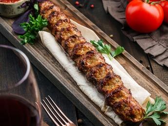 Kebab of chicken