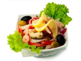 Seafood salad Santa Fe