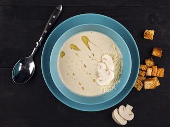 Mushroom cream-soup