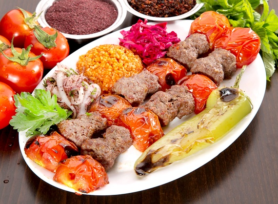 Kebab cu roșii