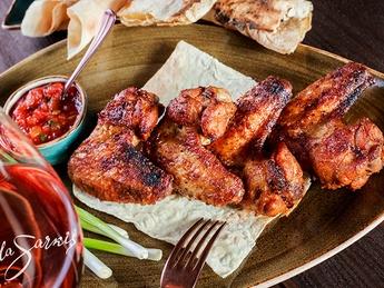 Chicken wings (tandir)