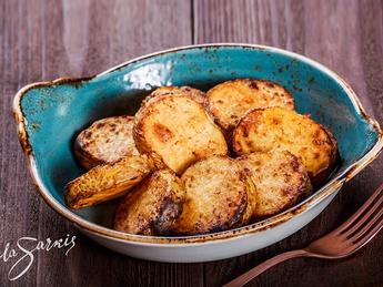 Cartofi copți (tandir)
