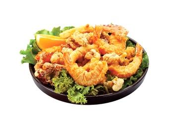 Морепродукты темпура