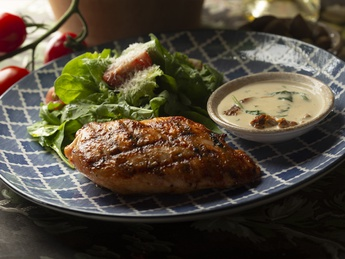 Chicken Breast with Mix Salad
