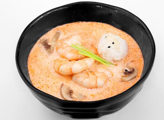 Tom-Yam with shrimp