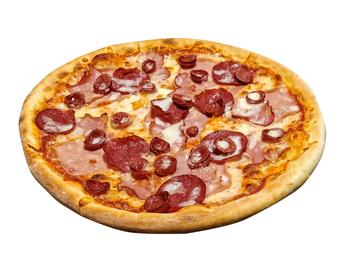 Pizza 4 Sausages