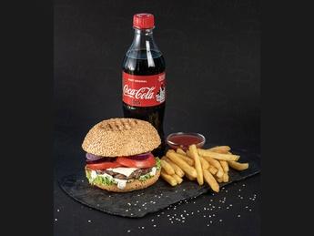 Beef burger Promo
