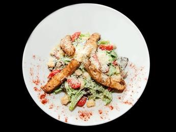 "Salad ""Caesar  with chicken fillet"""