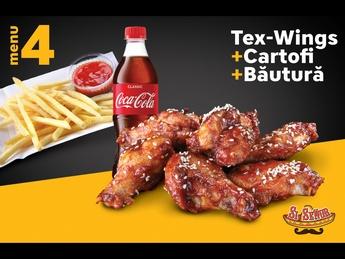 Meniu Tex-Wings