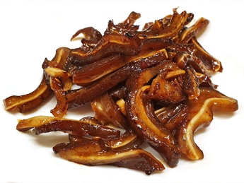 Pork fried ears in soy sauce