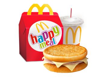 Happy Meal cu McToast