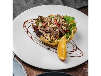 Vakamu beef heart salad