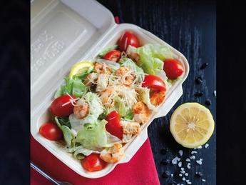Salat Ceasar de crevete