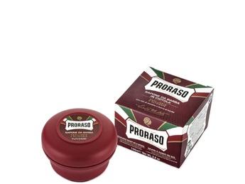 PRORASO Red Shaving Soap In A Bowl
