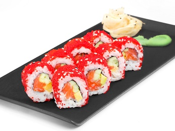 Roll Californial with salmon