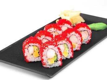 Roll California with shrimp
