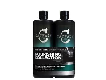 TIGI CATWALK Set Oatmeal & Honey Conditioner + Shampoo 750 ml