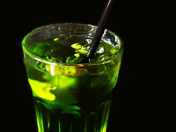 Ice tea green
