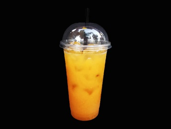 Fresh from orange