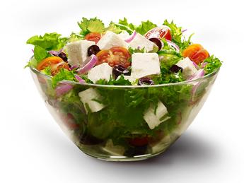 KFC Greek salad