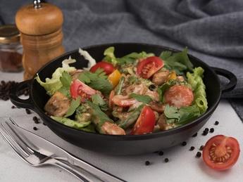 Salată caldă