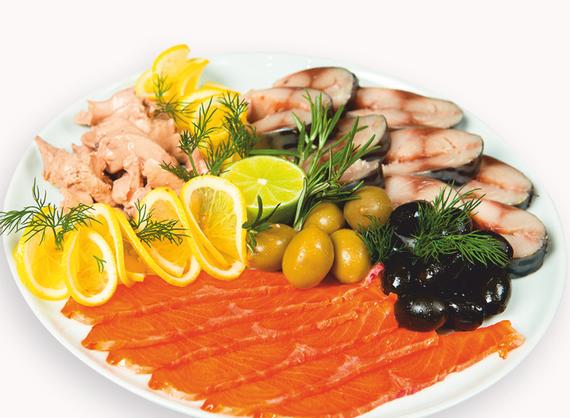 Assorted fish platter